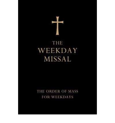 The Weekday Missal (Deluxe Black Leather Gift Edition) : The New Translation of the Order of Mass for Weekdays