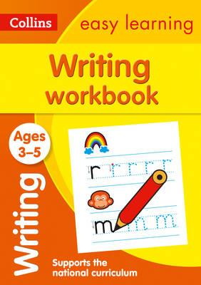 Collins Easy Learning Preschool: Writing Workbook Ages 3-5