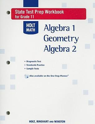 holt math state test prep workbook for grade 11 algebra 1. Black Bedroom Furniture Sets. Home Design Ideas