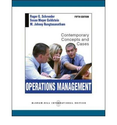 operations management contemporary concepts and cases chapter 4 5 6 review Study operations management: contemporary concepts and cases (mcgraw-hill/irwin series operations and decision sciences) discussion and chapter questions and find operations management: contemporary concepts and cases (mcgraw-hill/irwin series operations and decision sciences) study guide questions and answers.