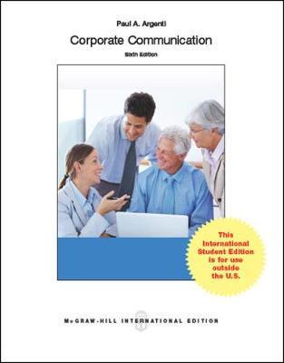 An analysis of corporate communication by paul a argenti