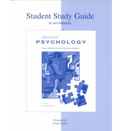 abnormal psychology study guide Book study guide to accompany abnormal psychology 8e pdf free download or read online by gerald c davison available on pdf epub and doc format isbn: 9780471386995, download book study guide to accompany abnormal psychology 8e at link below supported file pdf, txt, epub.