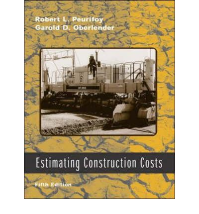 estimating construction costs peurifoy pdf
