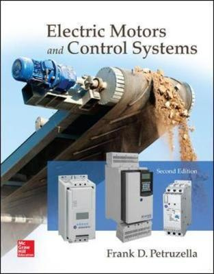 electric motors and control systems frank d petruzella
