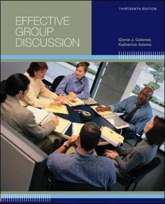 Effective Group Discussion Galanes 31