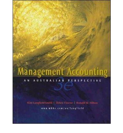 management accounting 5e solution langfield smith