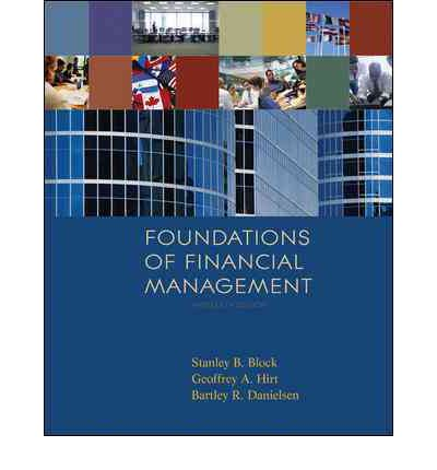 foundations of financial management Financial management refers to the efficient and effective management of money (funds) in such a manner as to accomplish the objectives of the organization it is the specialized function directly associated with the top management.