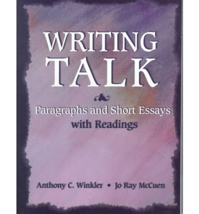 Writing talk paragraphs short essays