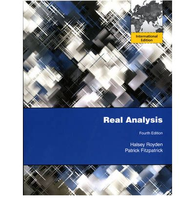 Real analysis | Downloadable Books