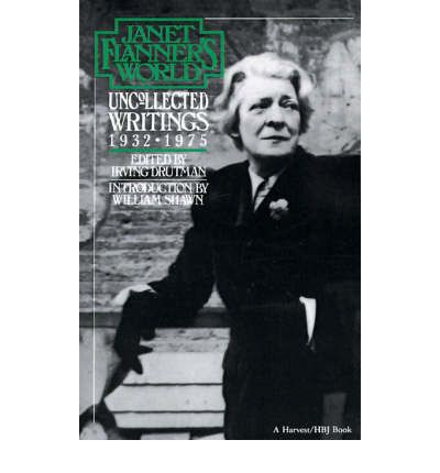 janet flanner Visit amazoncom's janet flanner page and shop for all janet flanner books check out pictures, bibliography, and biography of janet flanner.