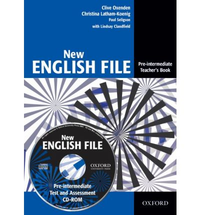 cd course file With texts and topics that make learners want to speak, new english file is the course that gets students talking  teacher's book with test and assessment cd-rom workbook with multirom.