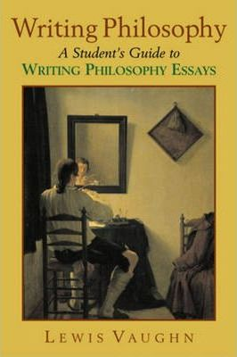 essay writing handbook philosophy students