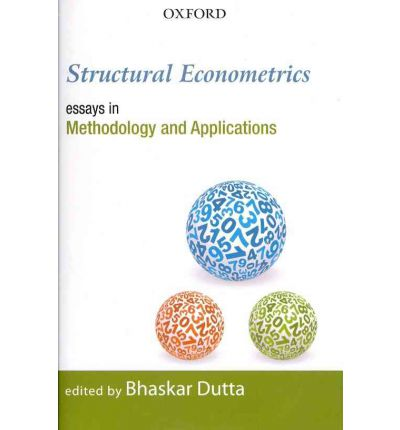 structural econometrics essays in methodology and applications This dissertation consists of four essays on the estimation methods and applications of spatial econometrics models in the first essay, we consider a spatial.