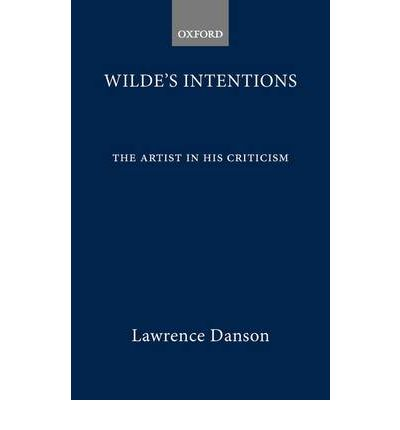 Wilde's Intentions