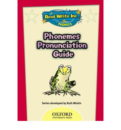 Read Write Inc. Phonics: Phonemes Pronunciation Guide DVD
