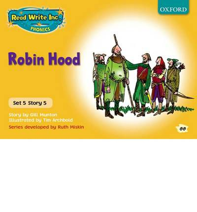 read write inc phonics yellow set 5 storybooks robin hood gill munton 9780198461913. Black Bedroom Furniture Sets. Home Design Ideas