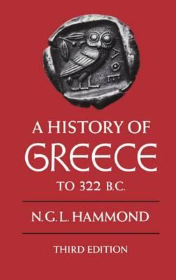 A History of Greece to 322 B.C.