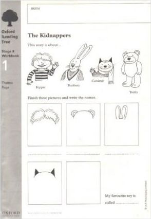 Oxford Reading Tree: Level 8: Workbooks: Workbook 1: The Kidnappers and Viking Adventures