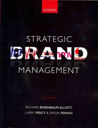strategic brand management richard elliott larry percy australia pdf