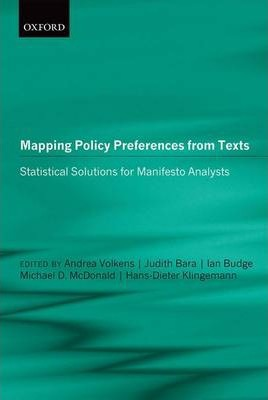 Mapping Policy Preferences from Texts: III