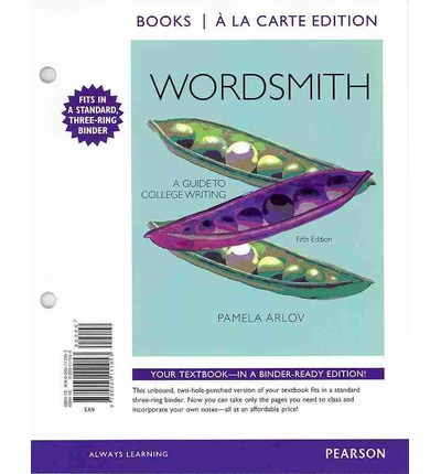 Wordsmith a guide to paragraphs and short essays