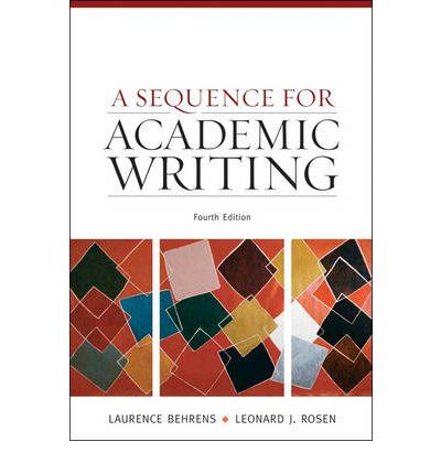 a sequence for academic writing essay So order your sequence paper from our essay writing service today  we have  encountered numerous students with various academic writing challenges.