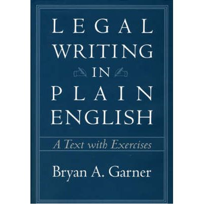 legal writing in plain english a text with exercises pdf