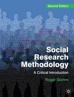 social research methodology I have added this new section because i realised how important methodology is in society & culture, both in the pip component and the exam.
