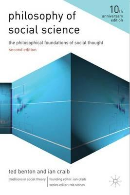 Philosophy of Social Science: The Philosophical Foundations of Social Thought