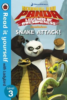 Kung Fu Panda: Snake Attack! - Read it Yourself with Ladybird: Level 3