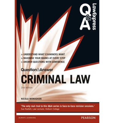 criminal law study guide Understand criminal law learn your rights and how to protect yourself whether  you face a criminal case, work in law enforcement, or simply want to know more.