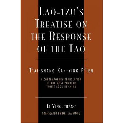 Lao-Tzu's Treatise on the Response of the Tao