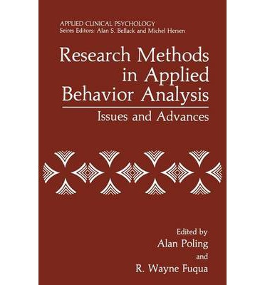 research papers on applied behavior analysis