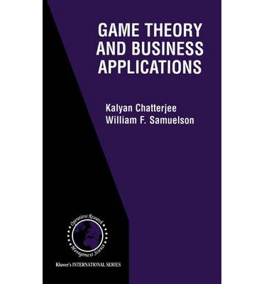 game theory implications in business Game theory provides a useful set of tools for  implications of repeated  interaction  game theory can be used in everyday business.