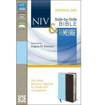 Side By Side Bible Pr Niv Ms Personal Size Two Bible