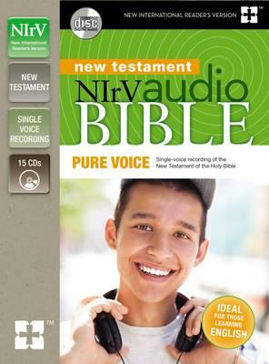 NIrV Audio Bible New Testament, Pure Voice : Single-Voice Recording of the New Testament of the Holy Bible