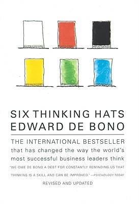 edward de bonos six thinking hats 'edward de bono's six thinking hats and lateral thinking' master classes show delegates how to be constructive and creative, how to solve problems easily and how to open up opportunities like any other sales or management skill, 'thinking' is also a skill.