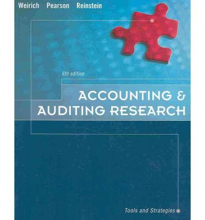 auditing research Recognized courses in accounting/tax research and analysis and accounting/business communications february 21, 2018 acct 4391 - accounting research - 2 hours acct 4331 auditing & other assurance services - 1 hour.