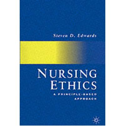 my nursing ethic In developing a code of nursing ethics, was established in 1899 by 1900, the first book on nursing ethics, nursing ethics: for hospital and private use , had been written.