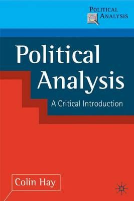 an introduction to the analysis of canadian politics Politics and ideology in canada: elite and public opinion in the transformation of the welfare state.