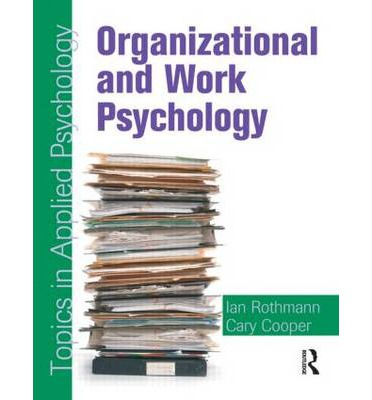 Industrial/Organizational Psychology Research Paper