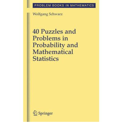 probability statistics problems In probability theory and statistics, bayes' theorem (alternatively bayes' law or bayes' rule, also written as bayes's theorem) describes the probability of an event, based on prior knowledge of conditions that might be related to the eventfor example, if cancer is related to age, then, using bayes' theorem, a person's age can be used to more accurately assess the probability that.