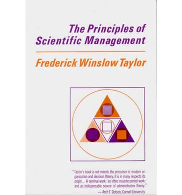 the principles of scientific management essay The principles of scientific management only use the book attached pages, it is called: classics of organizational behavior - fourth edition, walter e.