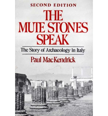 The Mute Stones Speak