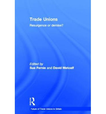 future of trade unions in the Encuentra future of trade unions: appendices to the minutes of evidence 3rd report (house of commons papers) de employment committee (isbn: 9780100210547) en.