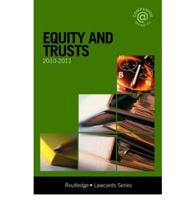 equity and trusts Page 2 course outline: law302 equity and trusts • types of trusts: o express, resulting and constructive, and charitable trusts • trustees.