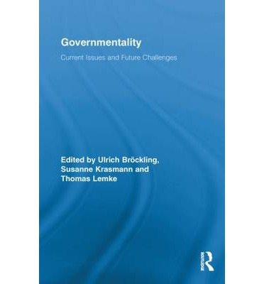 """the concept of governmentality Foucault, governmentality, and critique thomas lemke """"i often quote concepts, texts and phrases from marx, but without feeling obliged to add the."""