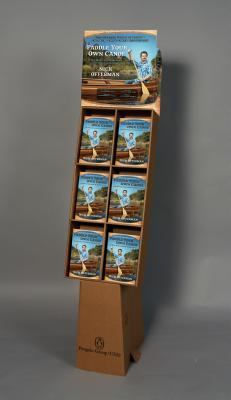 Paddle Your Own Canoe 12-Copy Solid Floor Display