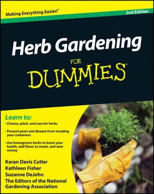 Herb Gardening For Dummies Karan Davis Cutler