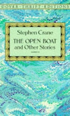 stephen cranes the open book determinism Determinism, objectivity, and pessimism in the open boat in stephen crane's short story the open boat, the american literary school of naturalism is used and three of the eight features are.
